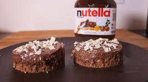 cuisine facile sans four cheese cake nutella recette sans cuisson