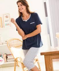 robe de chambre damart shirt de pyjama jersey fantaisie femme damart pyjama