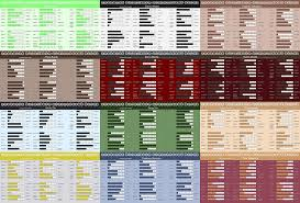 anime hair color meaning chart
