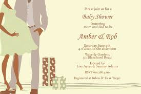 coed baby shower couples baby shower invitations cloveranddot