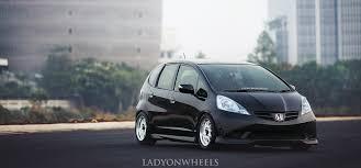 honda jazz car cover honda jazz on wheels stance hellaflush