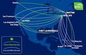 Jetblue Airports Map Jetblue Mint Lax Fll Singleflyer