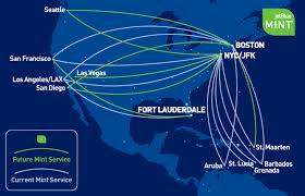 Jet Blue Route Map Jetblue Mint Lax Fll Singleflyer