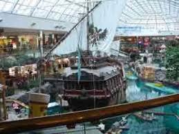 west edmonton mall popular tourist places satellite map