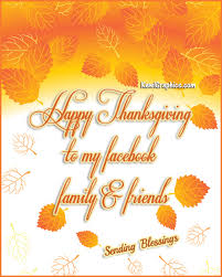 happy thanksgiving to my friends family graphic