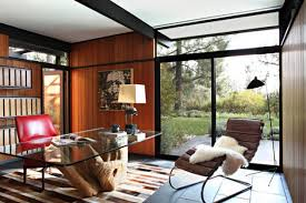 mid century modern home interiors 16 spectacular mid century modern home office designs for a retro feel