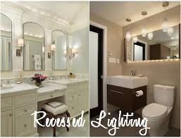 Can Lights In Bathroom Recessed Bathroom Lighting Jeffreypeak
