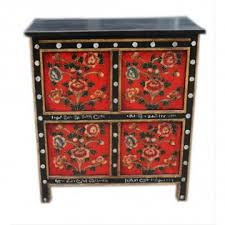 credenza tibetana credenza tibetana con 4 sportelli 95x86x44 codice ma 3204 etnicart