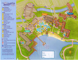 Disney Florida Map by Review Disney U0027s Beach Club Villas Yourfirstvisit Net