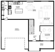 garage floor plan view floor plans by st george utah home builder immaculate homes
