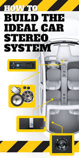 how to build the ideal car stereo system car audio audio system