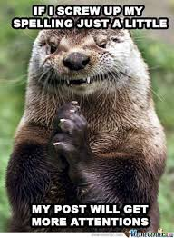 Gopher Meme - evil otter feature like and make it a meme by natsushi meme center