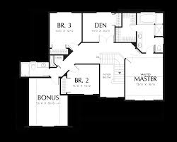 Garage Floor Plans With Bonus Room by Mascord House Plan 2239ng The Atwater