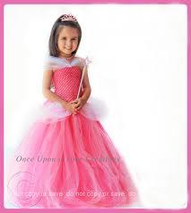 girly halloween costume pink fairytale princess tutu dress birthday halloween