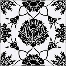 decorative tiles black white balian tile studio of jerusalem