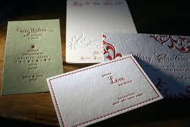 custom letterpress cards from smock smock