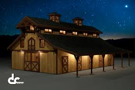 60 u0027 monitor barn floor plans night rendering brewery