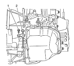 repair instructions on vehicle transmission fluid level
