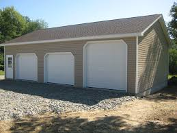 3 Car Garage With Apartment Nice Pole Barn Colors Doors Pole Barn Pinterest Barn Doors