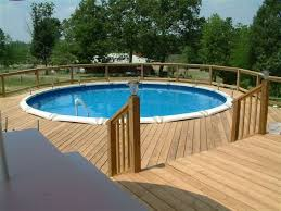 Wrap Around Deck Plans Decks Around Above Ground Pools Great Here Are Some Pictures