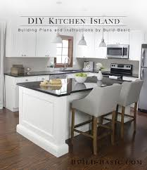build a kitchen island with seating kitchen build a diy kitchen island basic table plans project
