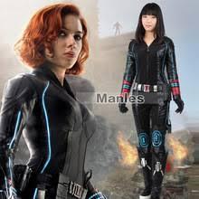 Black Widow Halloween Costumes Popular Black Widow Halloween Costume Avengers Buy Cheap Black