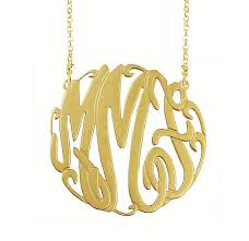 gold monogram gold monogram necklaces monogram jewelry be monogrammed