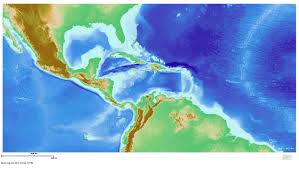 Topographical Map Of South America by Maps Cbth K 12 Outreach
