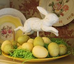 Easter Decorations For Mantels by Easter China Cabinet A Cultivated Nest