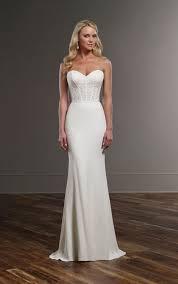 modern wedding dresses modern curve hugging wedding separates martina liana wedding dresses