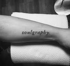 50 inspirational and meaningful one word tattoos 2017
