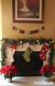 christmas garland with lights for mantle christmas lights decoration