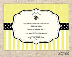 brunch invitations items similar to bee themed shower brunch or birthday party
