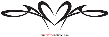 simple heart tattoo designs for men free download clip art