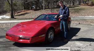 review 1986 chevrolet corvette