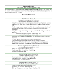 Sample Resume For Nursing Assistant Position by Lpn Resume Examples