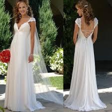maternity wedding dresses cheap chiffon lace bridal gown empire maternity wedding dress c15