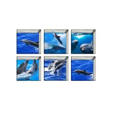 dolphin bathroom tiles promotion shop for promotional dolphin