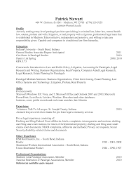 paralegal resume objective examples for your summary sample with