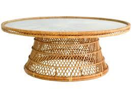 rattan ottoman coffee table u2013 mcclanmuse co