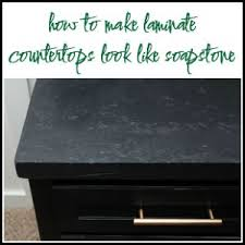 Soapstone Chalk How To Make Laminate Countertops Look Like Stone