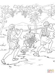 joshua coloring pages free coloring pages