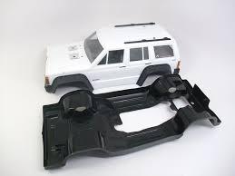 jeep body pro line 1992 jeep cherokee black painted body scale scx10 crawler