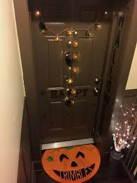 Home Decorations For Halloween by Luxaholic Halloween At Your Door Decoratemyflat Curvatude