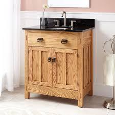 hardwood bath vanity signature hardware