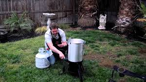 how to light your turkey deep fryer youtube