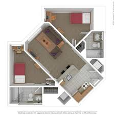 2 bedroom floorplans floorplans tour south cus commons