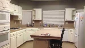 refinish cabinets without sanding laminate primer painting laminate cabinets before and after refinish