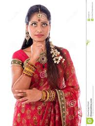 themes indian girl indian girl thinking stock photo image of deepavali 41652714