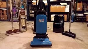 hoover tempo widepath flour under the carpet test youtube